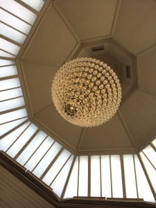 Chandelier from Hotel du Vin, Brighton