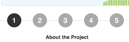 Screenshot showing the fixed dots
