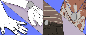 Image of sprite file showing the wearable devices