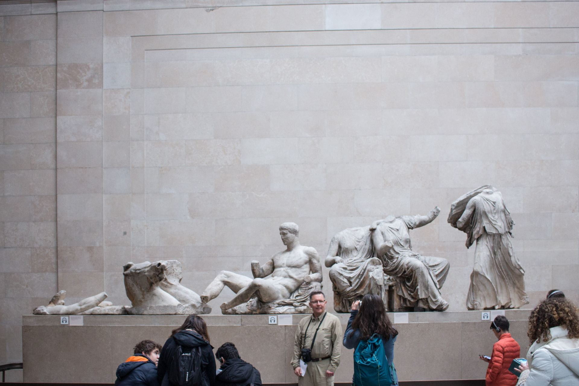 Image of Parthenon Marbles at the British Museum