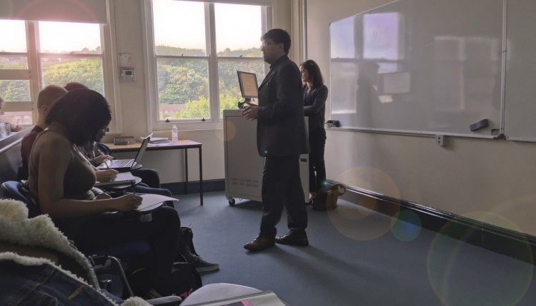 Adrian Phillips, Guest Lecture - 'Life as a Commercial