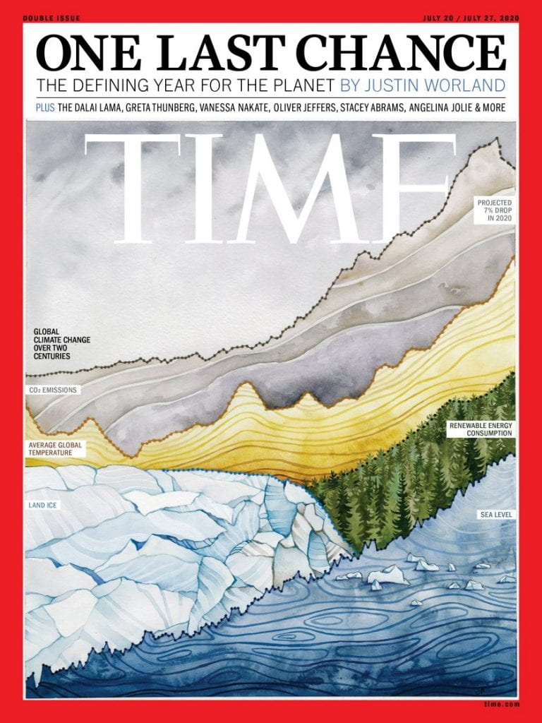 TIME magazine cover 20th July 2020