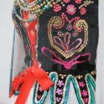 Detail of Krakowiak costume, Dress History Collection, University of Brighton