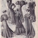 Peignoirs from the La Samaritaine catalogue summer 1908