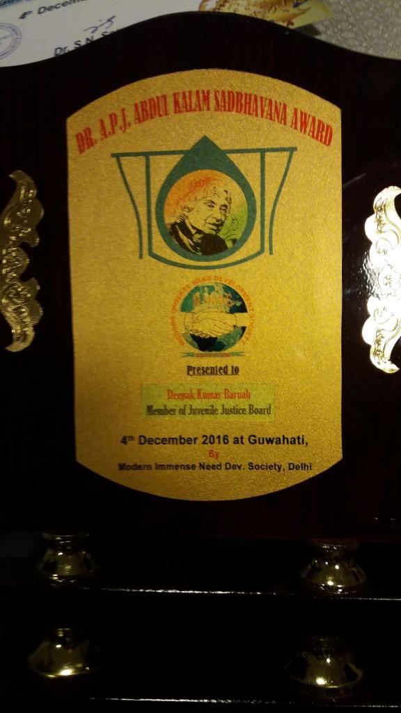 Deepak takes international prize for volunteering