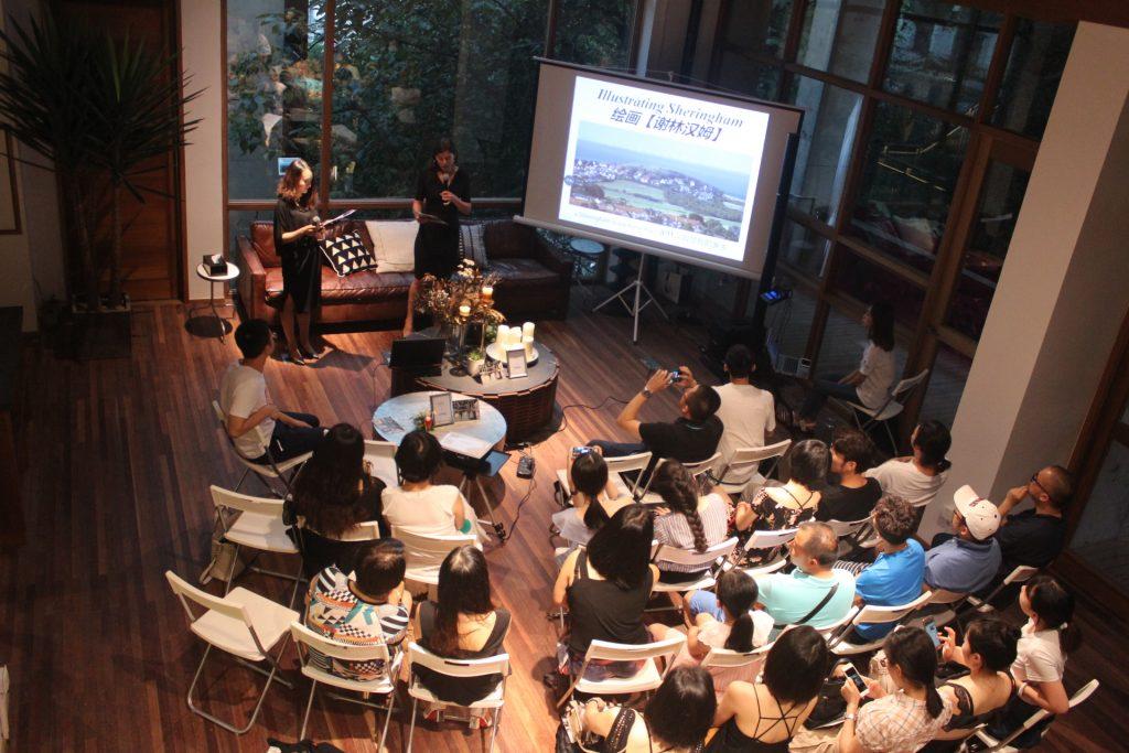 Arts alumnae reunite in China
