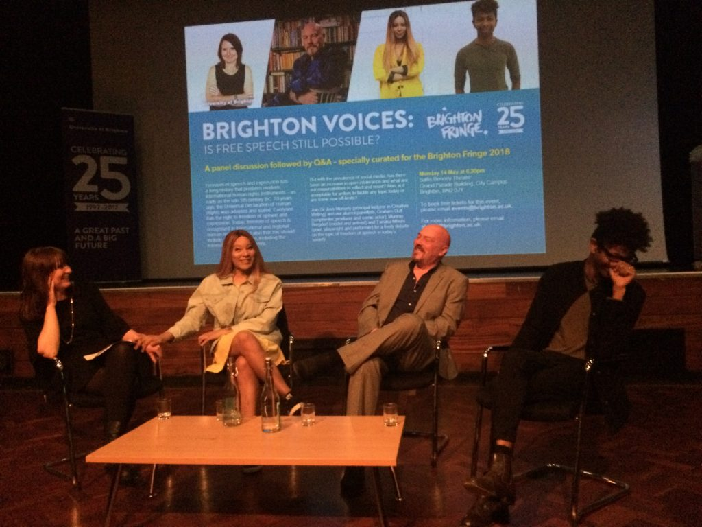 Brighton Voices: is free speech possible?