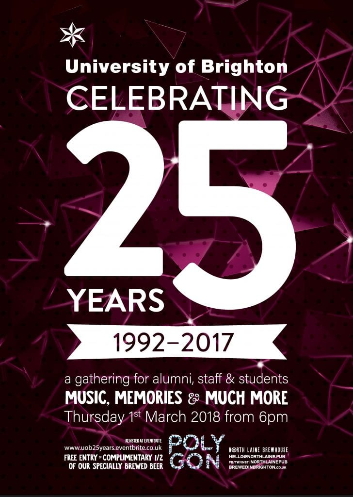 25 for 25 - a year of celebrations