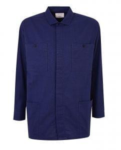 Debenhams blue shirt designed by Hannah