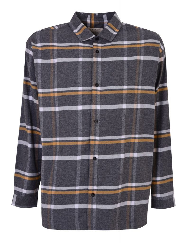 Debenhams checked shirt designed by Hannah