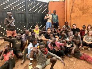 Group in Uganda