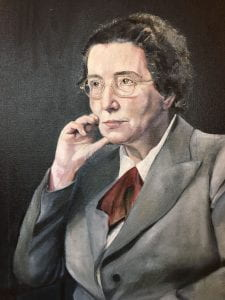Painting of Prof