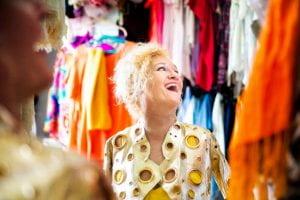 Alison Lapper smiling