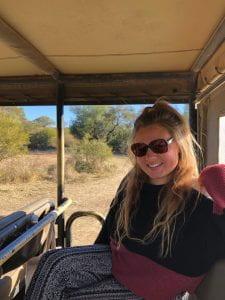 Lauren in Botswana