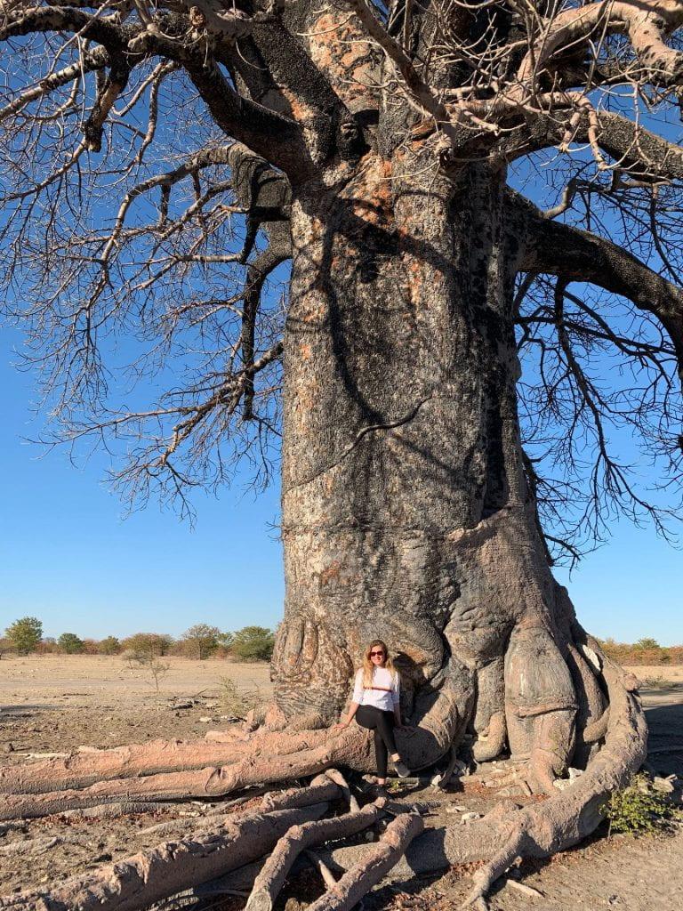 International Experience Fund winner Lauren Emms visits Gaborone in Botswana