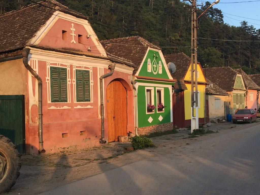 International Experience Fund winner Natalie Holmes visits Transylvania in Romania
