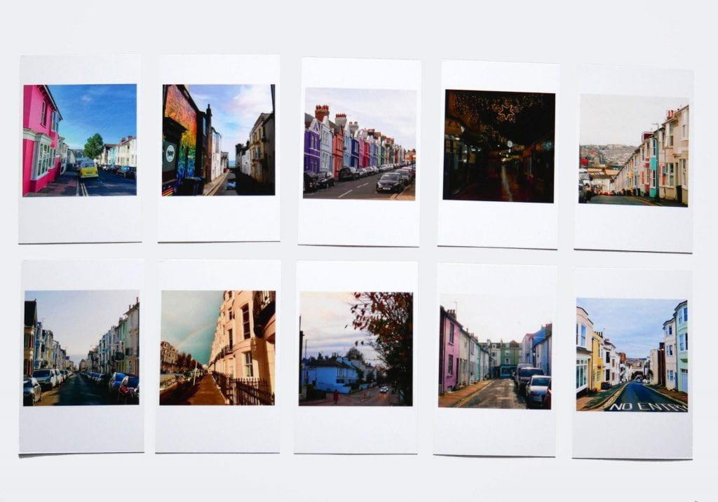 Alumna Charlotte Lillington has released a 2021 Calendar full of colourful Brighton snaps!