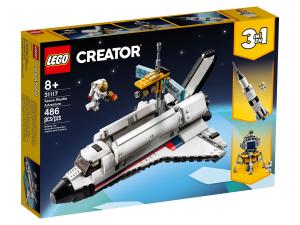 Space shuttle lego box