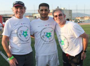 John Sugden, Gary Stidder and Abbas Suan