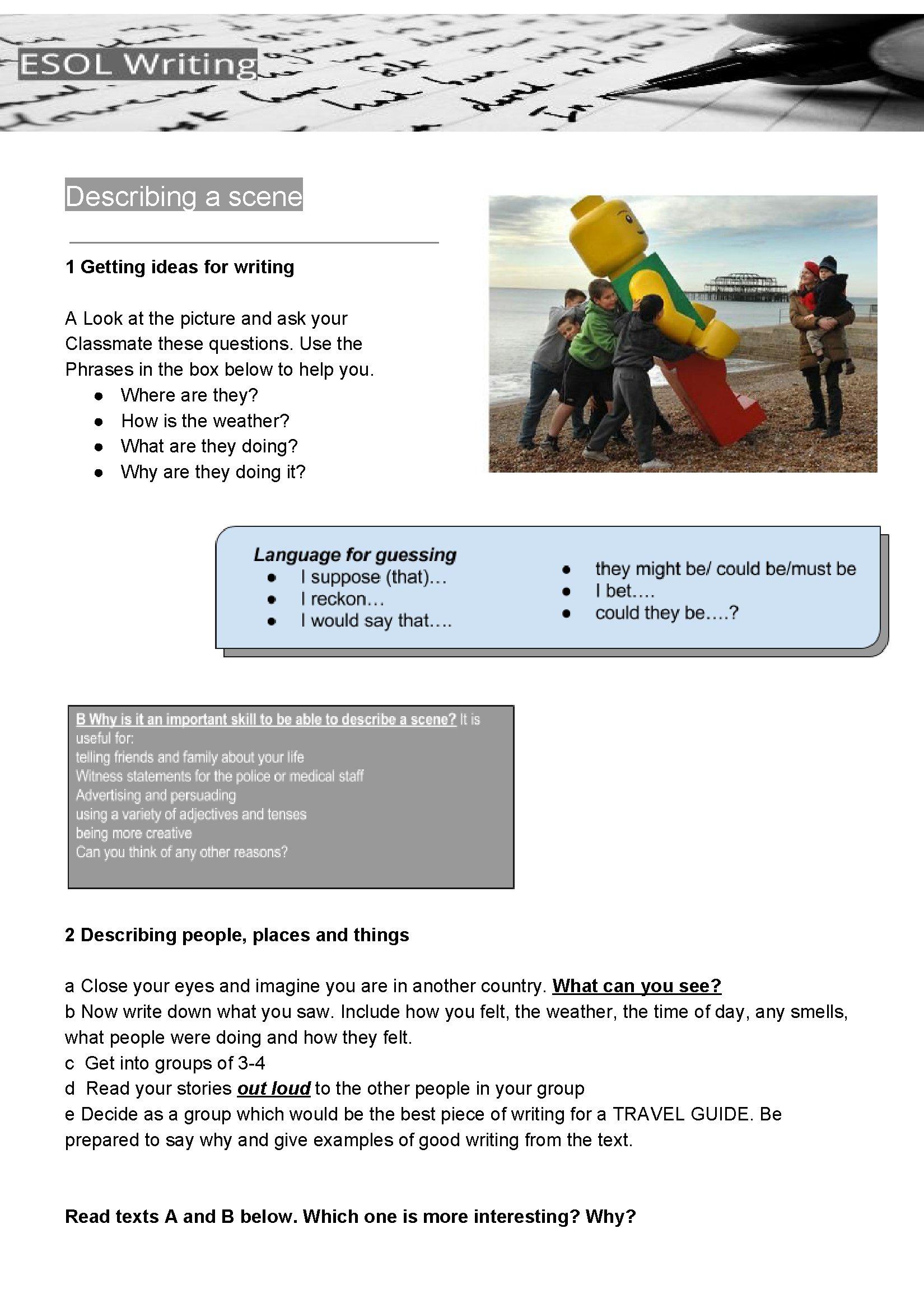 Week 8: Designing a worksheet | Creating language learning