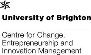 logo for the University of Brighton Centre for Change Entrepreneurship and Innovation Management, CENTRIM