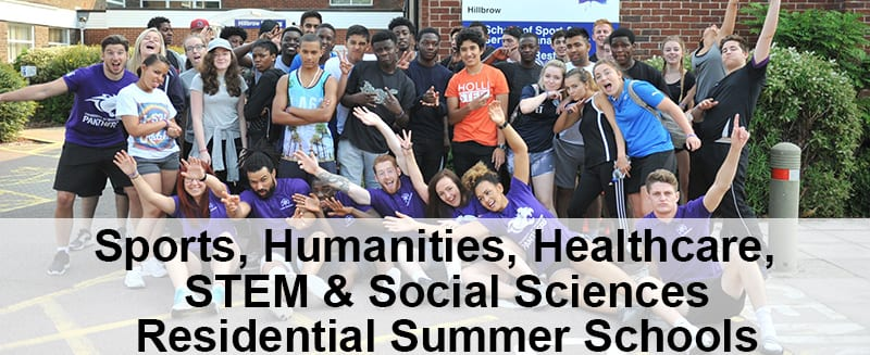Image of students at summer school - link to http://blogs.brighton.ac.uk/wideningparticipation/summerschools/residentials/