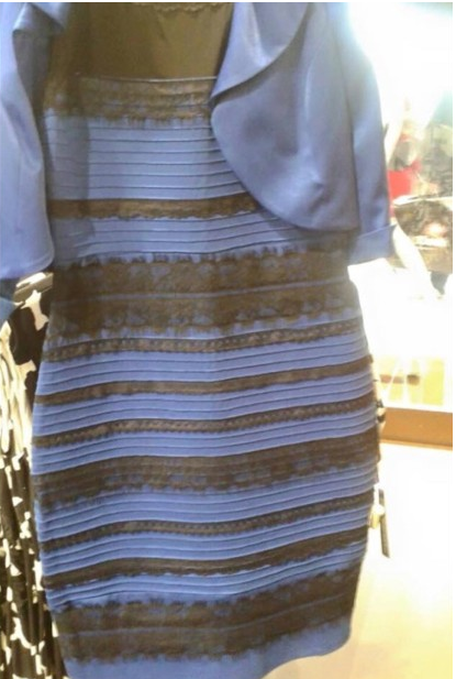 Blue and Black or White and Gold  2a4394a9a