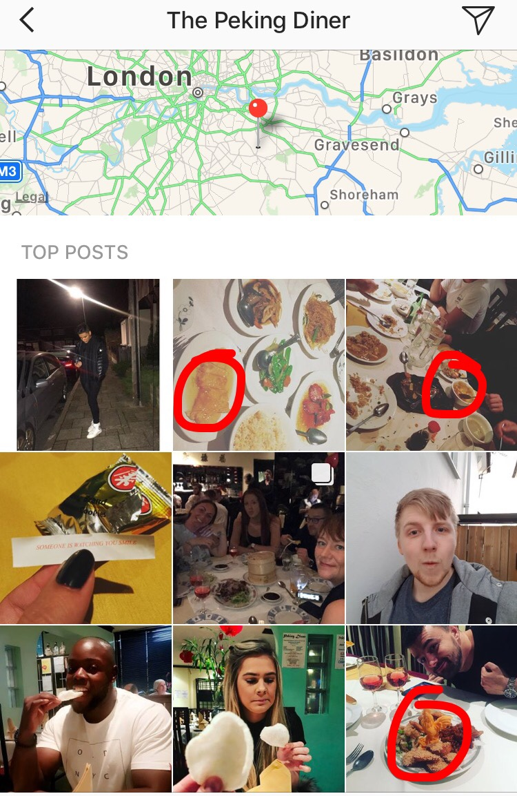 So when Instagramers come in for a meal e18c9363d