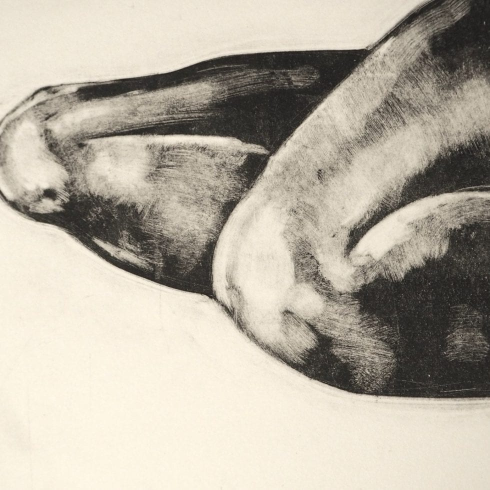 Jasmine Collings Body Part 4 Monoprint