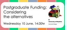 Funding webinar flyer 10 June