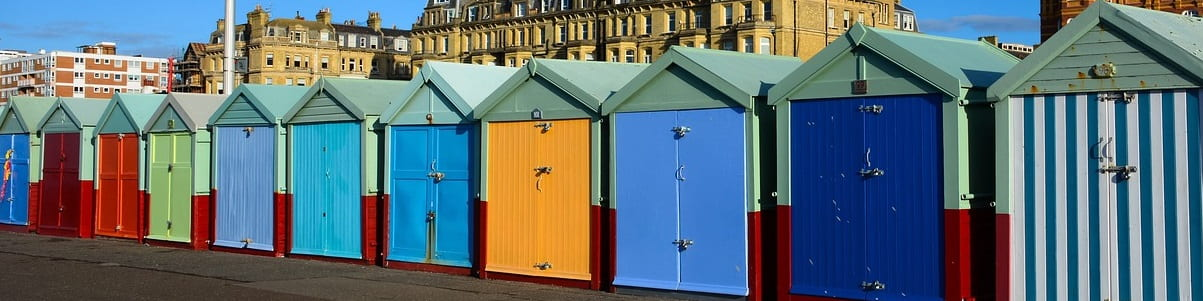 Brighton and Hove beach huts