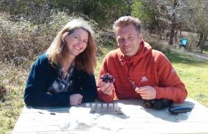 Dawn Scott and Chris Packha. Picture Kristina Turner