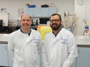 Image of Dr Neil Crooks and Dr Angelo Pernetta
