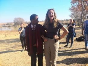 Fund winner Chloe's South African game reserve experience