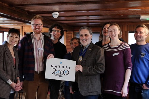 Launch Nature 2020 team