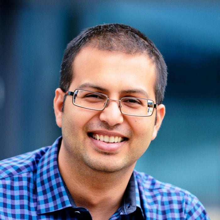 Headshot of Bhavik Patel smiling
