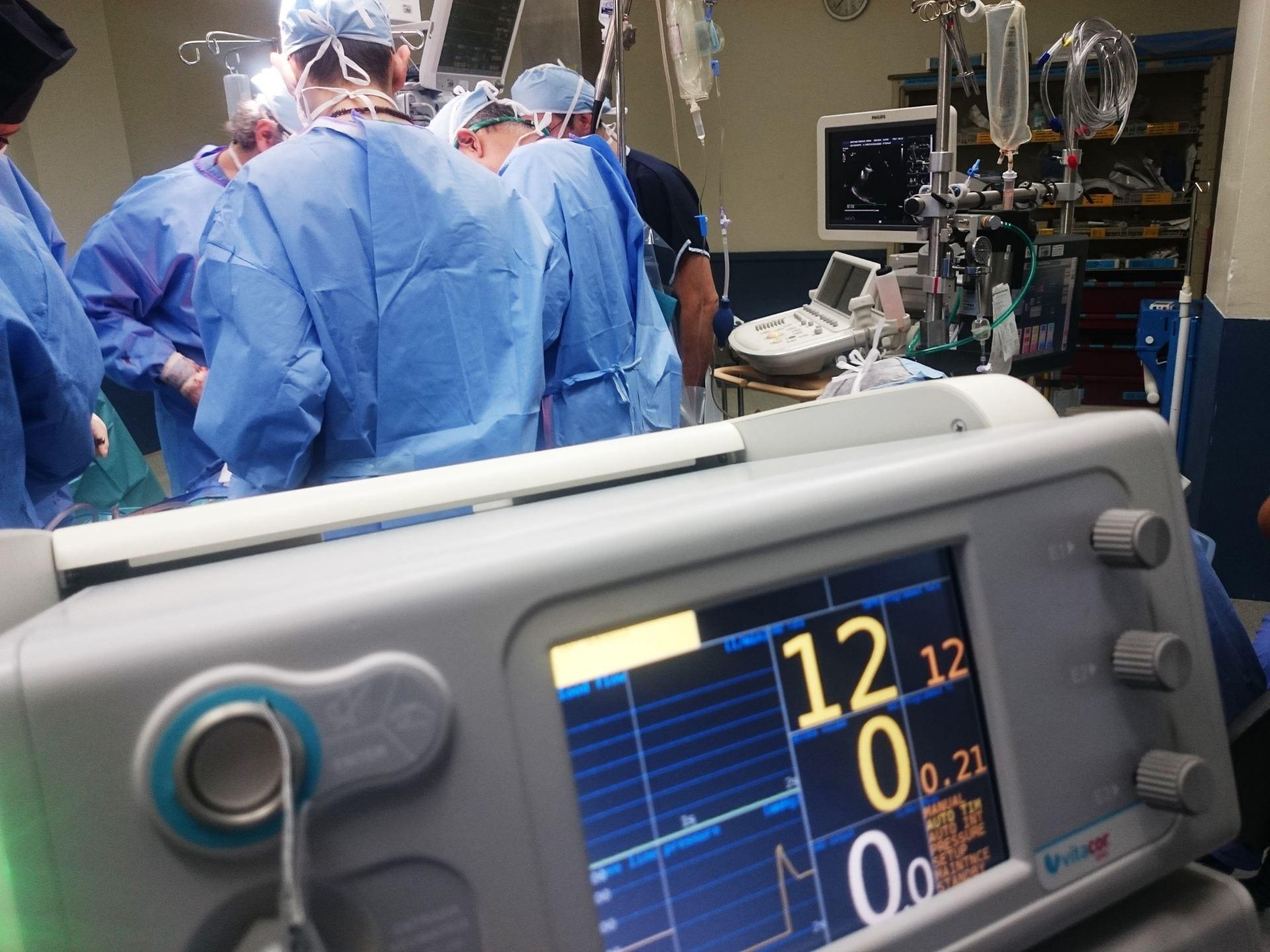 Photo of surgery