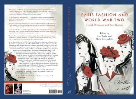 book jacket for Paris Fashion and WW2