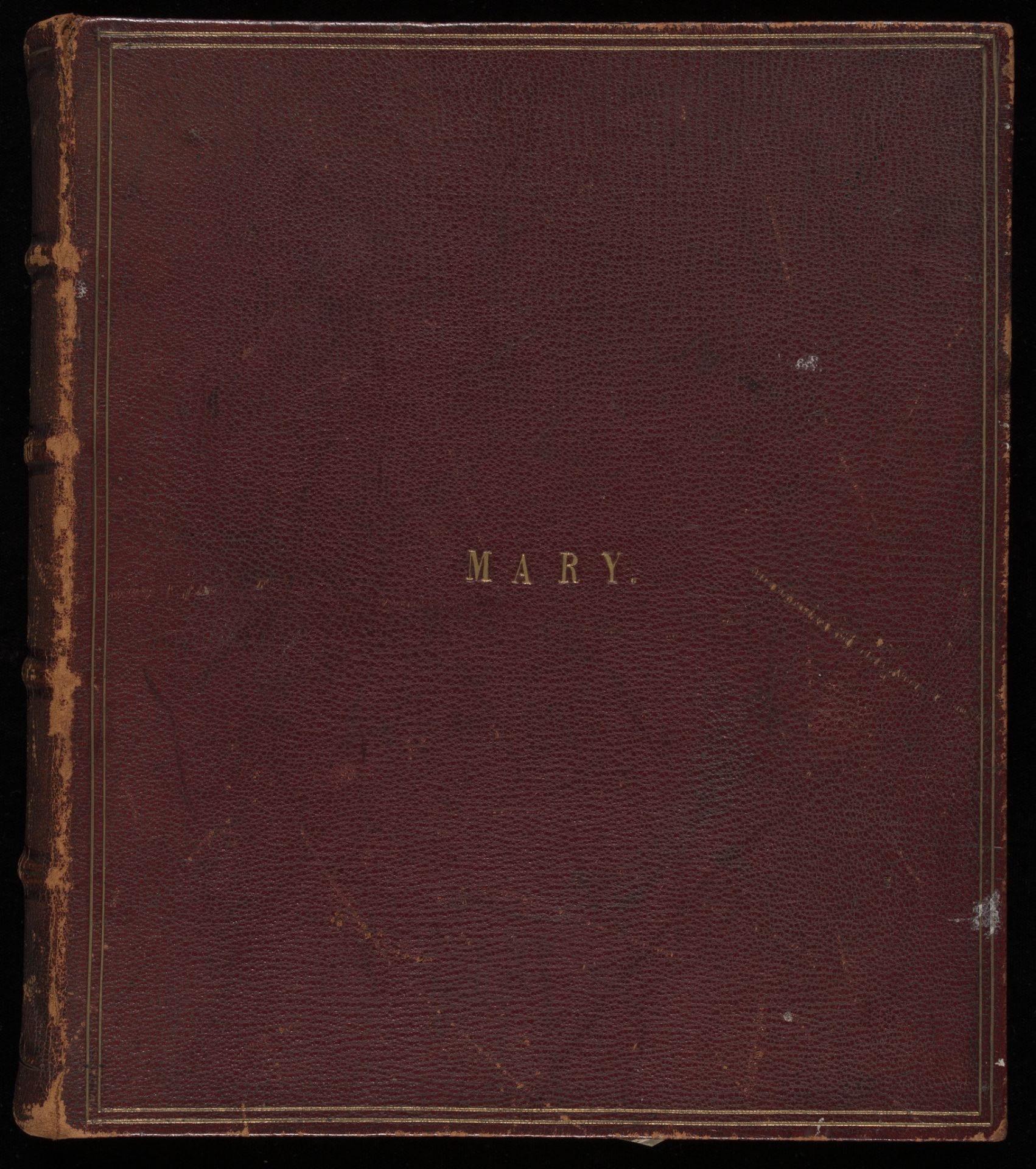 Cover of the Burnip Album, RPS.1177:1-32-2019. © Victoria and Albert Museum, London.