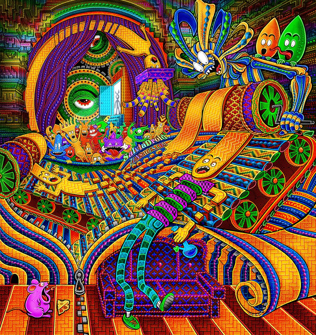 DMT art | S t u f f Dmt Trip Visuals