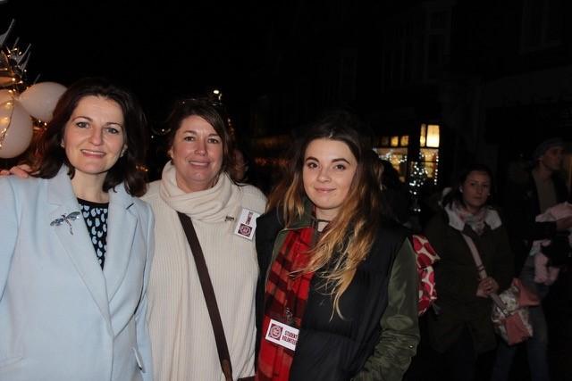 Left to Right: Conservative MP for Eastbourne Caroline Ansell, event organiser Sara Evans and International Event Management student Lauren Sigrist