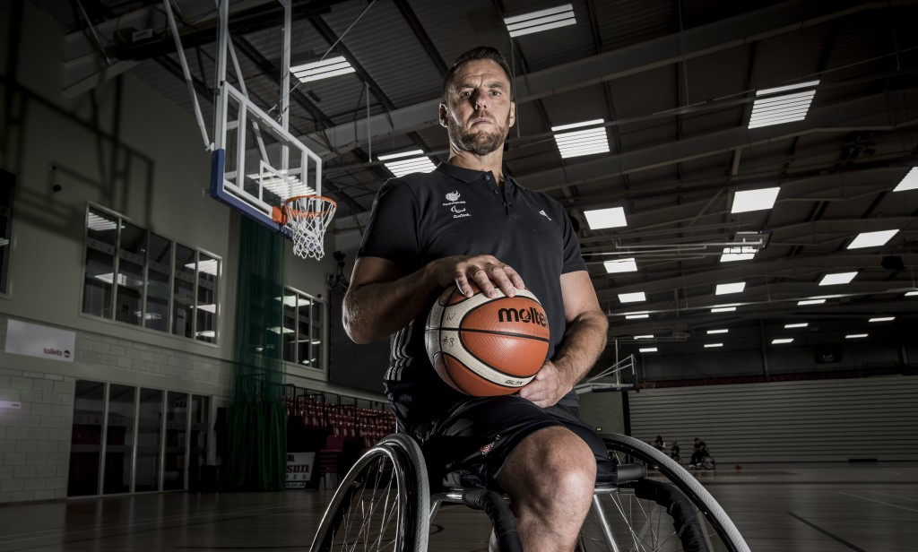 ParalympicsGB Mens Wheelchair Basketball