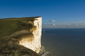 Photo of the cliffs at Beachy Head