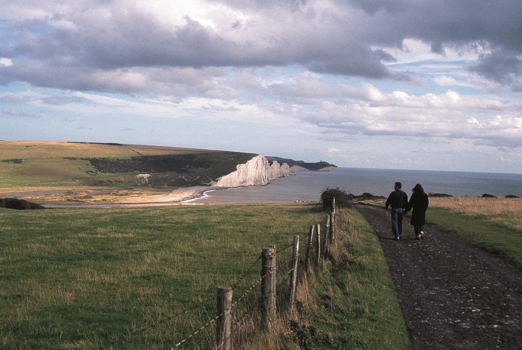 Photo of the view of Cuckmere Haven