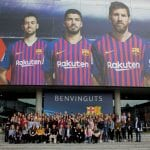 Women's football captain invited to home of FC Barcelona