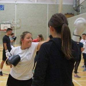 Engaging with non-contact boxing