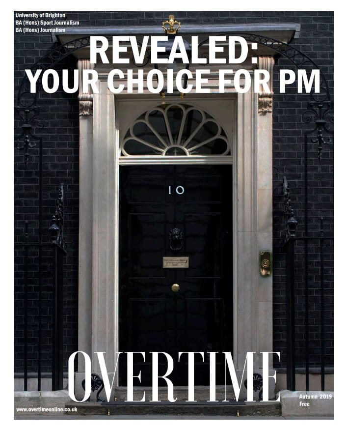 cover of Overtime magazine