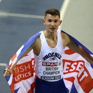 Brighton student becomes British athletics champion