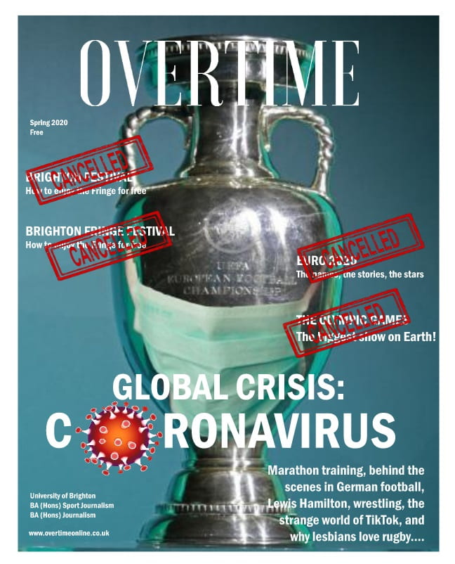 The cover of the Overtime spring edition