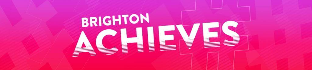 Brighton achieves graphic